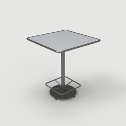 FRT1700-BH-SQ-M1-FS-36-FR Square Bar Height Table | Tavoli alti | Maglin Site Furniture