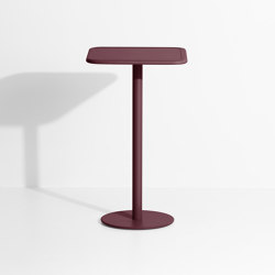 Week-End | Square high table | Standing tables | Petite Friture