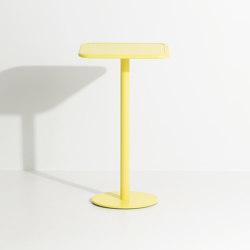 Week-End | Square high table | Tavoli alti | Petite Friture