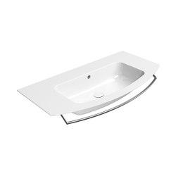 Pura 102  Washbasin   Wash basins   GSI Ceramica