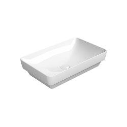 Pura 60/TI  Washbasin   Wash basins   GSI Ceramica
