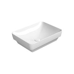 Pura 50/TI  Washbasin   Wash basins   GSI Ceramica