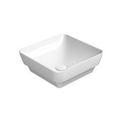 Pura 38/TI  Washbasin   Wash basins   GSI Ceramica