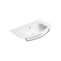 Pura 82  Washbasin   Wash basins   GSI Ceramica