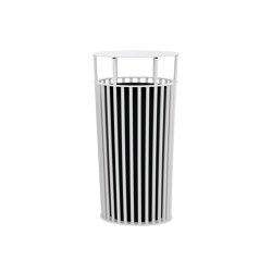 ZEROQUINDICI.015 BIG LITTER BIN WITH HIGH COVER | Cubos basura / Papeleras | Diemmebi