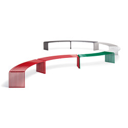 ZEROQUINDICI.015 FLAT BENCH CONCAVE OR CONVEX | Benches | Diemmebi