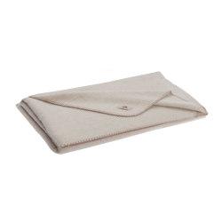 Alina Blanket winterwhite | Mantas | Steiner1888