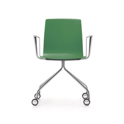 Fiore conference swivel chair | Chairs | Dauphin