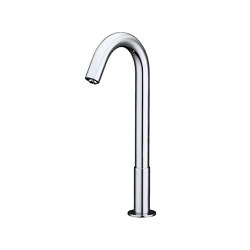 Aquaeco | Tall Infrared Tap Battery Or Mains Operated | Wash basin taps | BAGNODESIGN