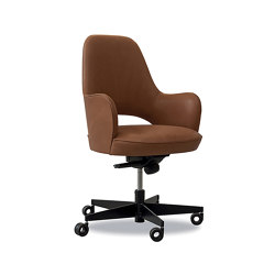 COLETTE OFFICE Chair with wheels   Stühle   Baxter