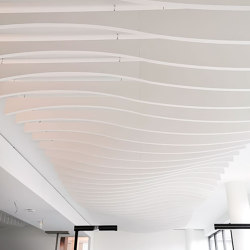 APN Lamella Wave A | Illuminated ceiling systems | apn acoustic solutions