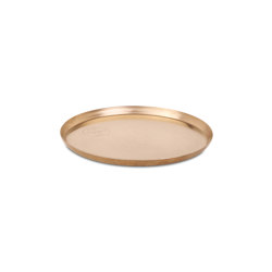 Edge Brass Plate Ø25 | Storage boxes | Skagerak