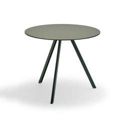 Overlap Table Ø85 | Bistro tables | Skagerak