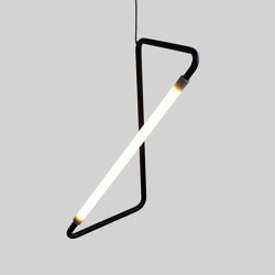 Light Object 001 - LED light, black finish | Table lights | Naama Hofman Light Objects