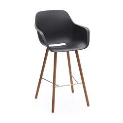 Captain's sedia alta con struttura in legno   Sgabelli bancone   extremis