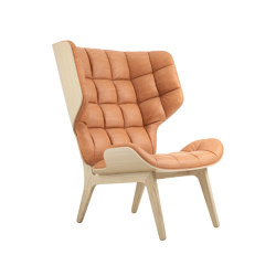 Mammoth Chair, Natural / Vintage Leather Cognac 21000 | Armchairs | NORR11