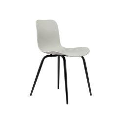 Langue Avantgarde Dining Chair, Black / Flint Grey | Sillas | NORR11