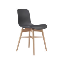 Langue Original Dining Chair, Natural /  Anthracite Black | Chairs | NORR11