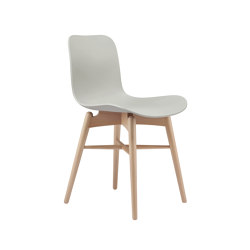 Langue Original Dining Chair, Natural /  Flint Grey | Sillas | NORR11