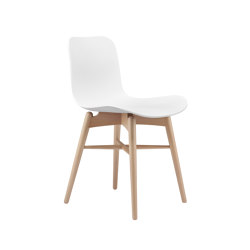 Langue Original Dining Chair, Natural /  Off White | Sillas | NORR11
