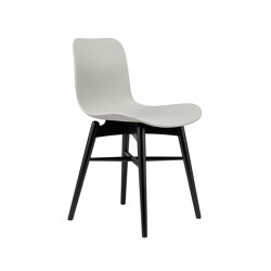 Langue Original Dining Chair, Black / Flint Grey | Sillas | NORR11