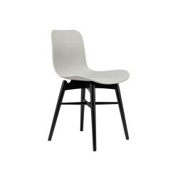 Langue Original Dining Chair, Black / Flint Grey | Chairs | NORR11
