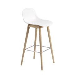 Fiber Bar Stool   Wood Base   Bar stools   Muuto