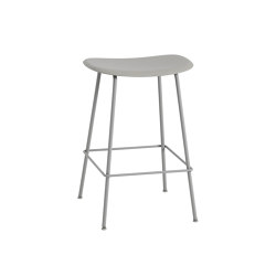 Fiber Counter Stool | Tube Base | Taburetes de bar | Muuto