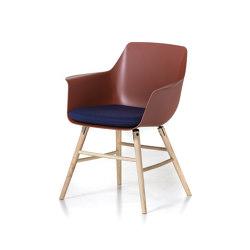 Enki wooden base | Chairs | DVO
