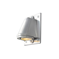 0749 Mast Light, mains voltage + LED lamp, Polished Aluminium | Wall lights | Original BTC