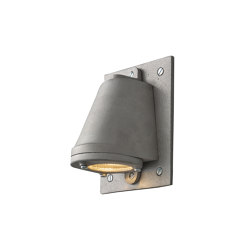 0749 Mast Light mains voltage + LED lamp, S/blast Anodised. Aluminium | Wall lights | Original BTC