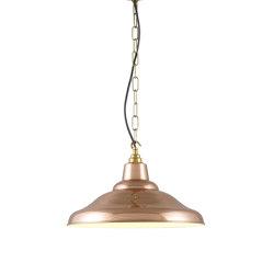 7200 School Light, Polished Copper | Suspended lights | Original BTC