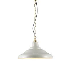 7200 School Light Painted Putty Grey | Suspensions | Original BTC