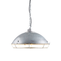 7242 Cargo Cluster Light With Protective Guard, 1xE27, Galvanised | Suspended lights | Original BTC