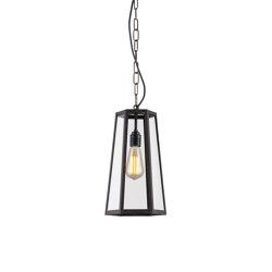 7651 Hex Pendant, Weathered Brass | Suspended lights | Original BTC