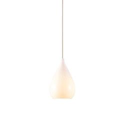 Drop One Pendant Light, White Gloss   Suspended lights   Original BTC