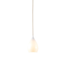 Drop One Small Pendant Light, White Gloss | Suspended lights | Original BTC