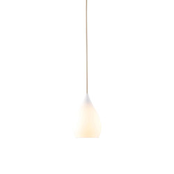 Drop One Small Pendant Light, White Matt | Suspended lights | Original BTC