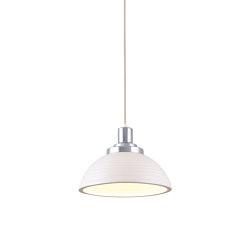 Cosmo Stepped Pendant Light, White | Suspended lights | Original BTC