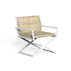 Domino | Director Lounge Chair | Chaises | Talenti