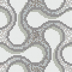Shiru Grey | Mosaïques verre | Mosaico+