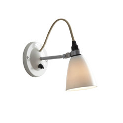 Hector Small Dome Wall Light Switched, Natural | Wall lights | Original BTC