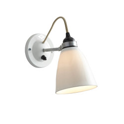 Hector Medium Dome Wall Switched, Natural | Wall lights | Original BTC