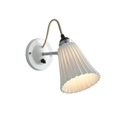 Hector Medium Pleat Wall Switched, Natural | Wall lights | Original BTC