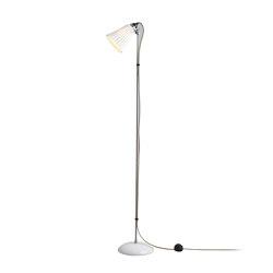 Hector Medium Pleat Floor Light, Natural | Free-standing lights | Original BTC