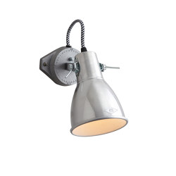 Stirrup 1 Single Wall Light, Natural Aluminium | Wall lights | Original BTC