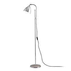 Task Floor Light, Polished Aluminium | Lámparas de pie | Original BTC