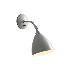 Task Short Wall Light, Putty Grey | Wall lights | Original BTC
