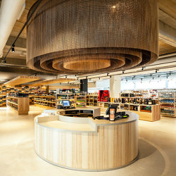 Ceiling Concentric Round | Metal meshes | Kriskadecor