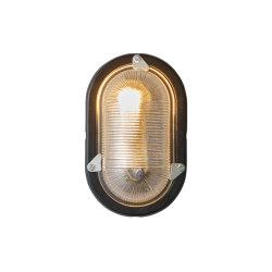 Oval Aluminium Bulkhead for GLS Painted Black | Lampade parete | Original BTC